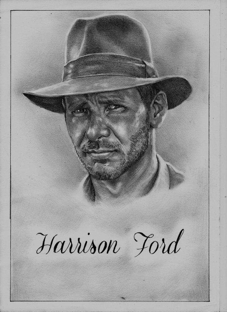 Harrison Ford by Exalion